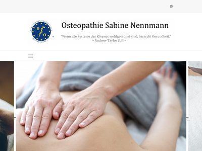 Osteopathie Nennmann | Ingelheim