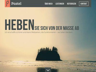 Pastel Webdesign
