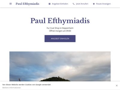 Efthymiadis Pelze Paul Efthymiadis