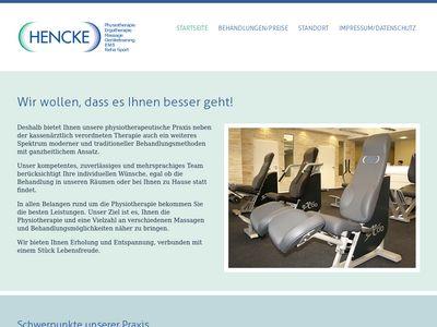 Peter Hencke Physiotherapie