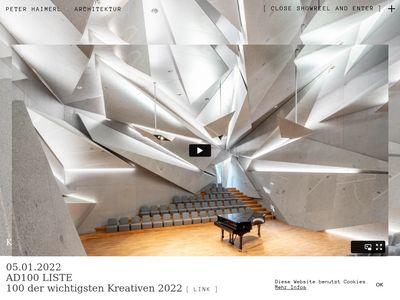 Peter Haimerl Architektur