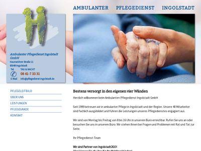 Ambulanter Pflegedienst Ingolstadt