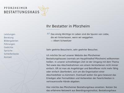 Pforzheimer Bestattungshaus GmbH