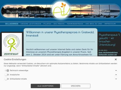 Physiotherapie am RYCK - Anna Krivosheev