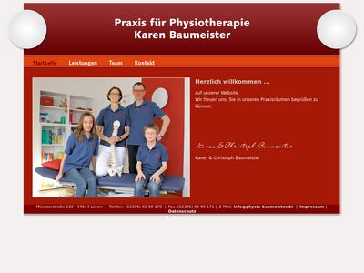 Karen Baumeister Praxis für Physiotherapie