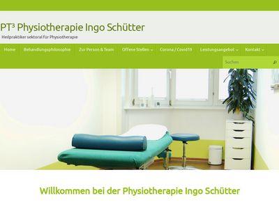 PT³ Physiotherapie Ingo Schütter