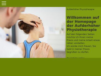 Aufderhöher Physiotherapie