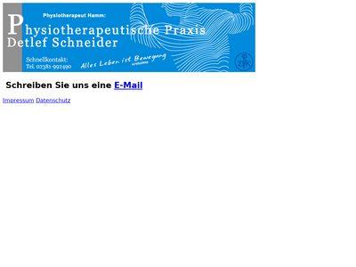 Detlef Schneider Physiotherapie