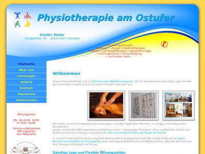Physiotherapie am Ostufer