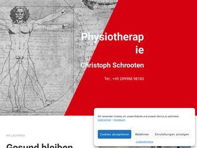 Christoph Schrooten Physiotherapie
