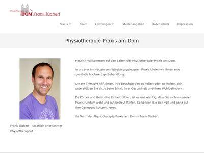 Physiotherapie am Dom - Frank Tüchert