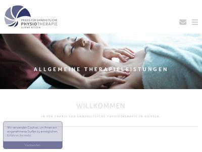 Physiotherapie Kitzen Ulrike