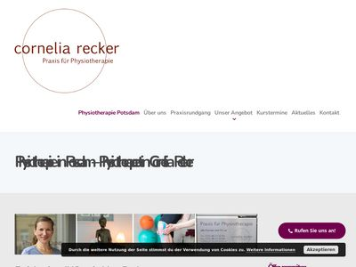Physiotherapie Cornelia Recker
