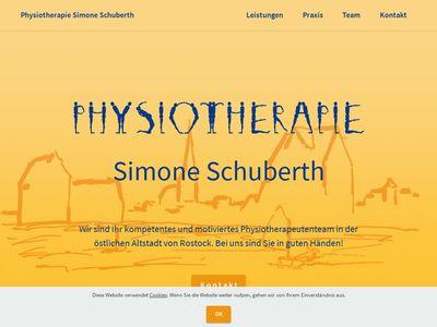 Physiotherapie Schuberth Simone