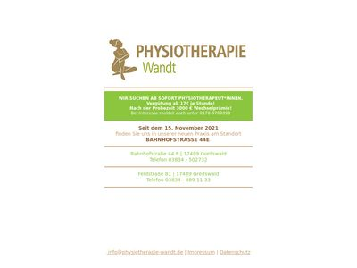 Wandt Physiotherapie
