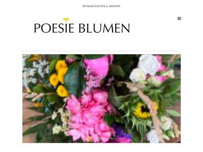 Poesie Blumen