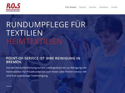 Point of Service - Reinigung