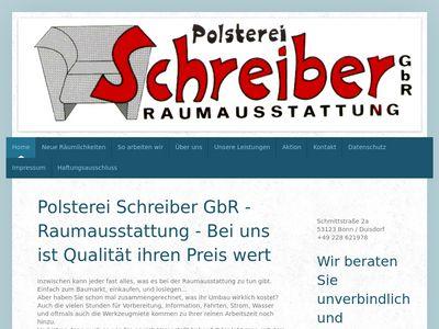 Polsterei Schreiber, Raumausstattung