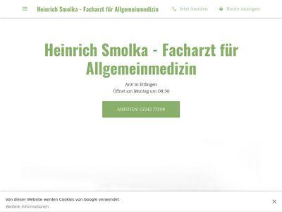 Praxis Heinrich Smolka