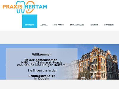 Hertam Holger Dipl.-Stom. Zahnarztpraxis
