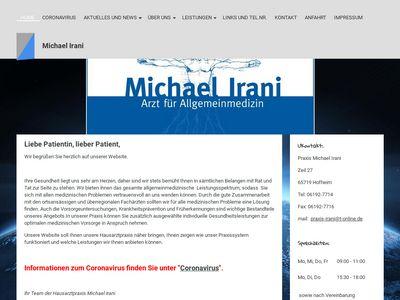 Michael Irani Facharzt für Allgemeinmedizin