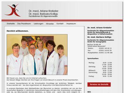 Dr. med. Ariane Krekeler