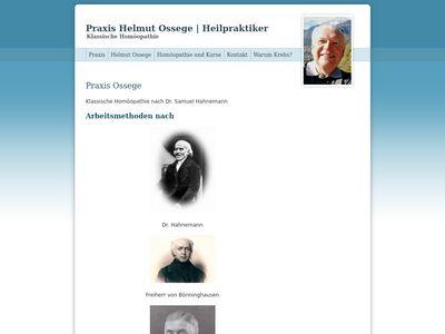 Helmut Ossege Heilpraktiker