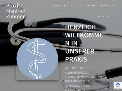 Manfred Zimmer Chirotherapie