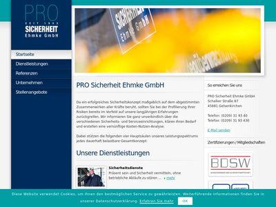 PRO SICHERHEIT Ehmke GmbH
