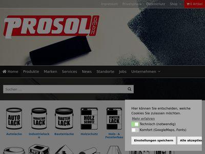 PROSOL Lacke Farben GmbH