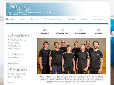 ProVita Physiotherapie