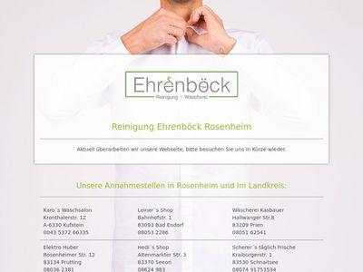 Ehrenböck GmbH Textilreinigung