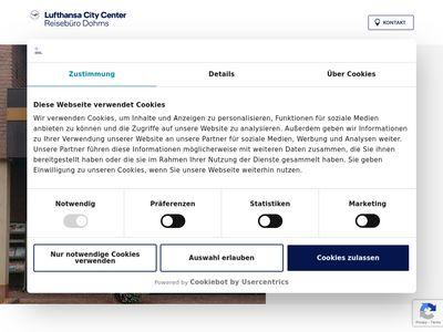 CSK Reisen GmbH, Reisebüro Dohms
