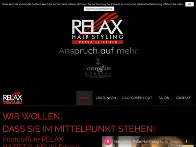 Intercoiffure Relax Hairstyling