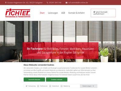 Richter Rolladenbau und Fenstervertriebs GmbH