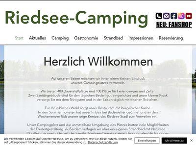 Riedsee camping