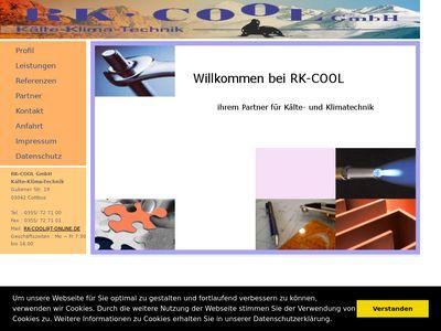 RK - Cool GmbH Kälte- und Klimatechnik