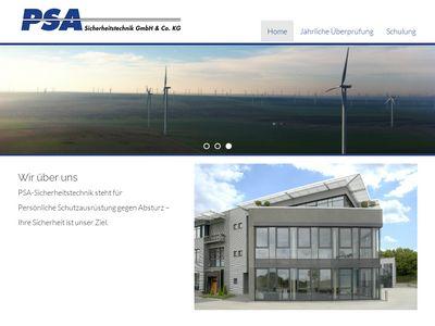 PSA Sicherheitstechnik GmbH & Co. KG