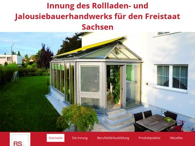 Rollladen Innung Sachsen