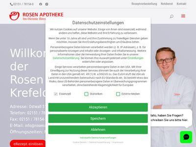 Rosen-Apotheke Krefeld