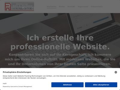 Webdesign Rossmanek Wiesbaden