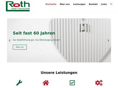 Roth Sanitär + Heizung GmbH