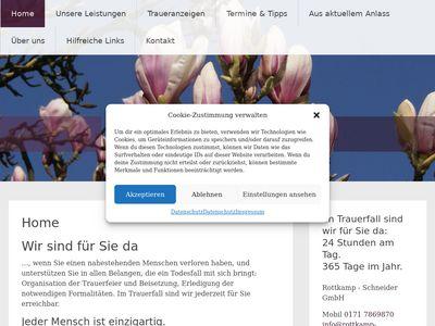 Bestattungen Rottkamp-Schneider Bestattungen