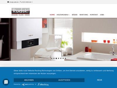 Rudski GmbH Bäder & Heizungen