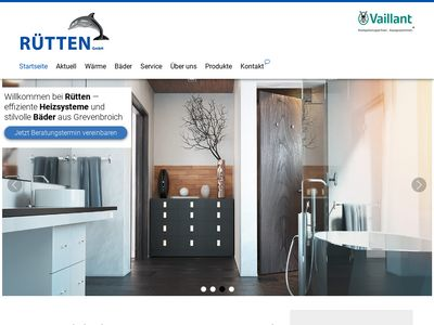 Rütten GmbH, Sanitär-Heizung-Solar