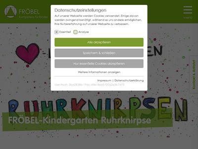 FRÖBEL-Kindergarten Ruhrknirpse