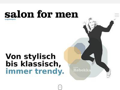 Salon for men