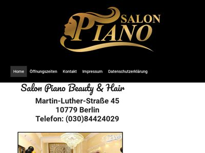 Salon Piano Beauty + Hair
