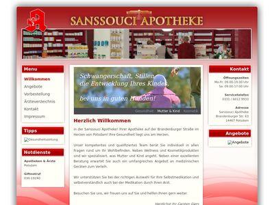 SANSSOUCI APOTHEKE