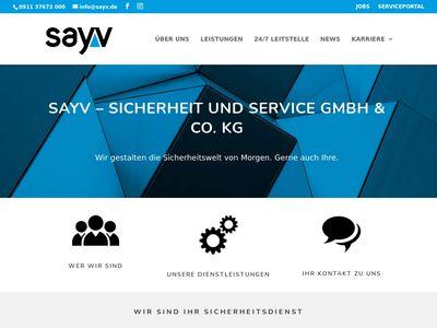 SAYV - Sicherheit und Service GmbH & Co. KG